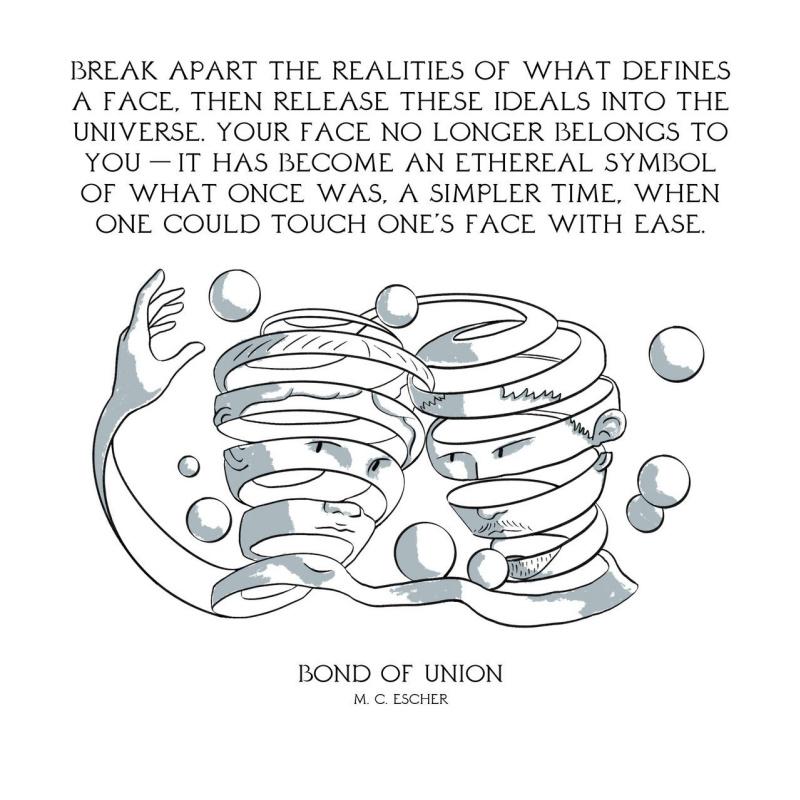 Разделить на фрагменты сущность того, что определяет лицо, затем отпустить это нечто во Вселенную. В