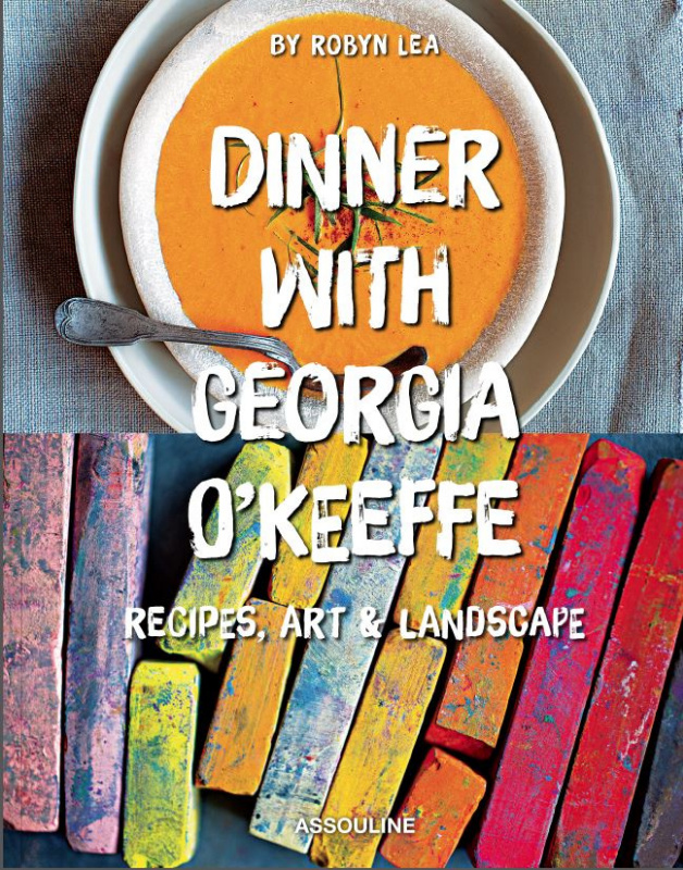 Georgia O'Keeffe is introduced as a designer of clothes and a cook