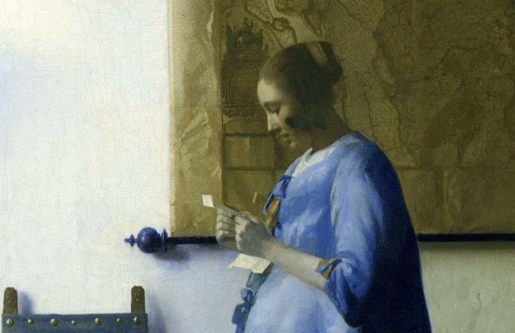 Изумительная «Дама в голубом» Вермеера переехала из Амстердама в Вашингтон