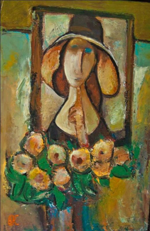 Вениамин Клецель: искусство должно быть чувственным. Яркие картины «с характером» - на выставке в Израиле