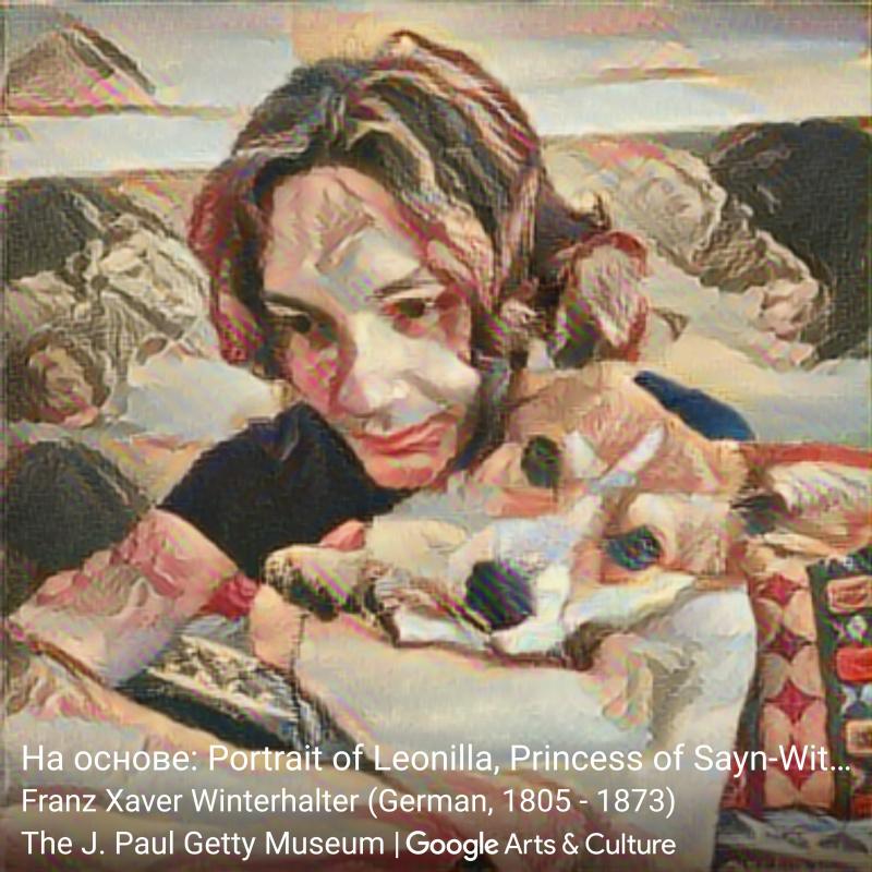 На основе«Великая княгиня Леонилла» (1843)Франца Ксавера Винтерхальтера