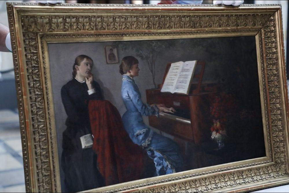 Похищенная нацистами картина «отца польского символизма» вернулась в Варшаву