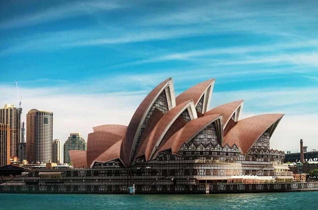 Оперный театр в Сиднее в стиле Тюдоров