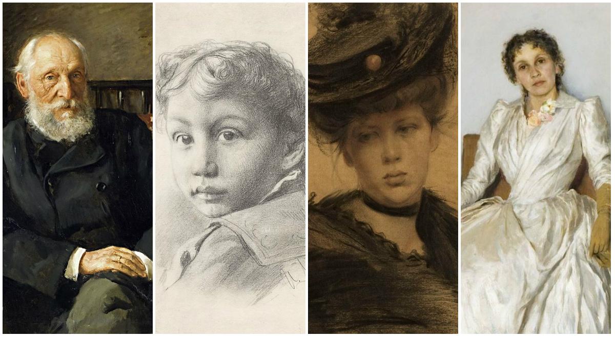 Левитан-портретист:  что известно о героях его немногочисленных портретов