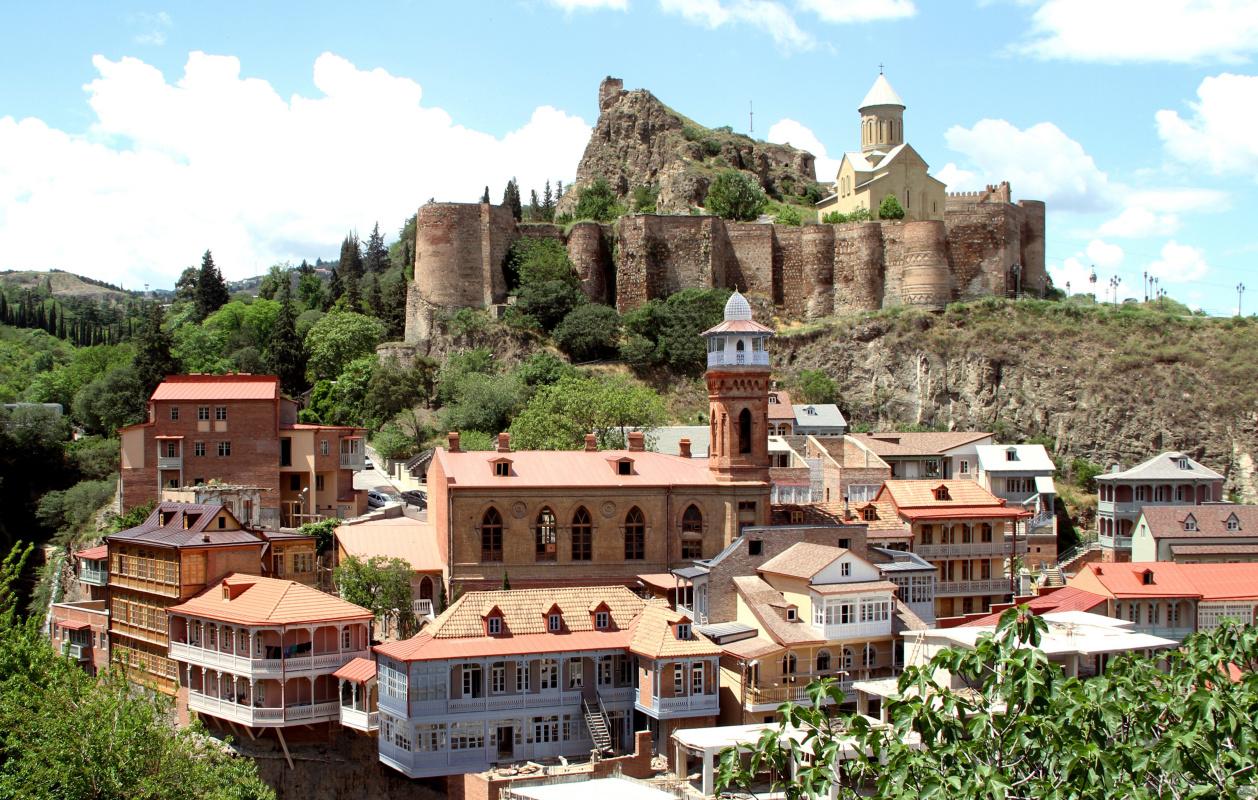 Грузинская столица Тбилиси стала«Лучшим развивающимся культурным городом». Источник: Национальная т