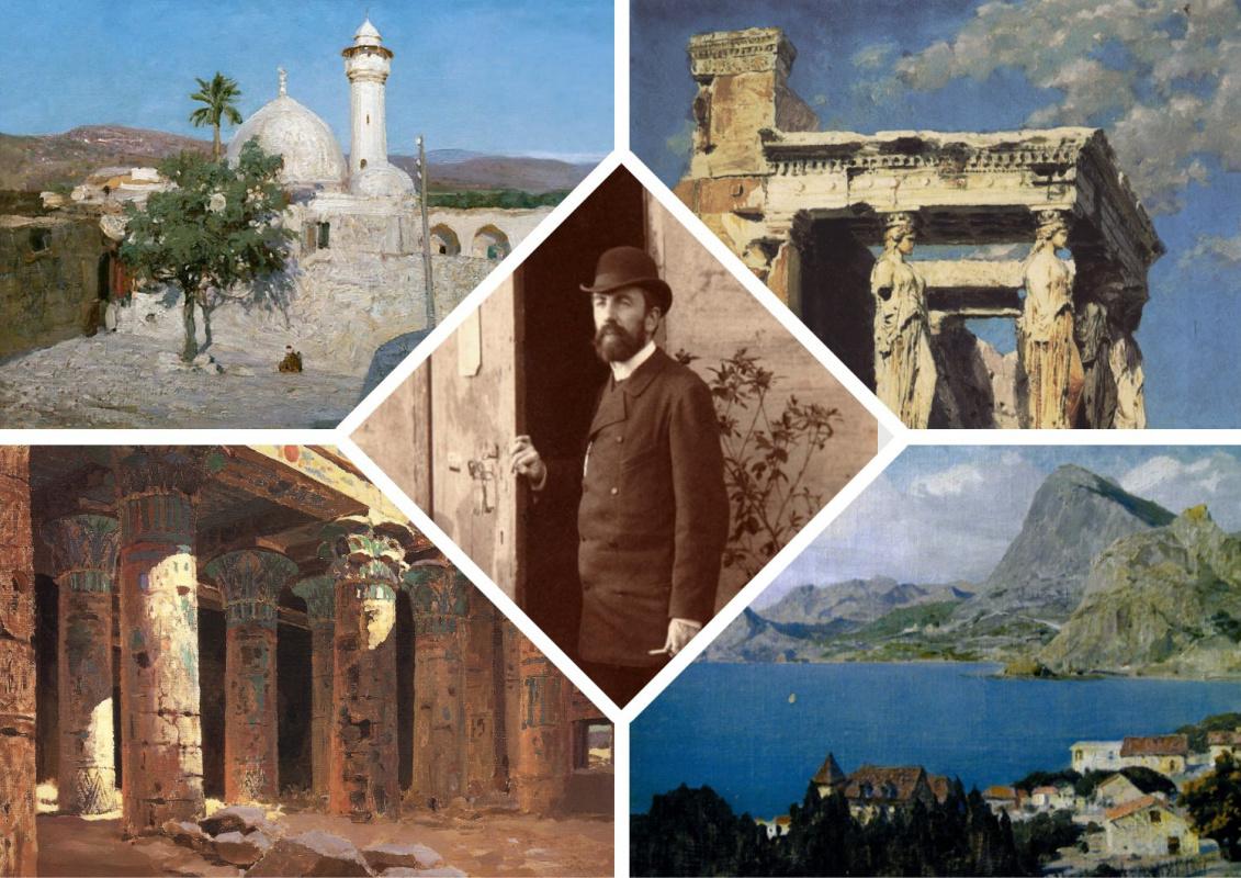 Vasily Polenov's travel blog: Italy, Germany, France, England
