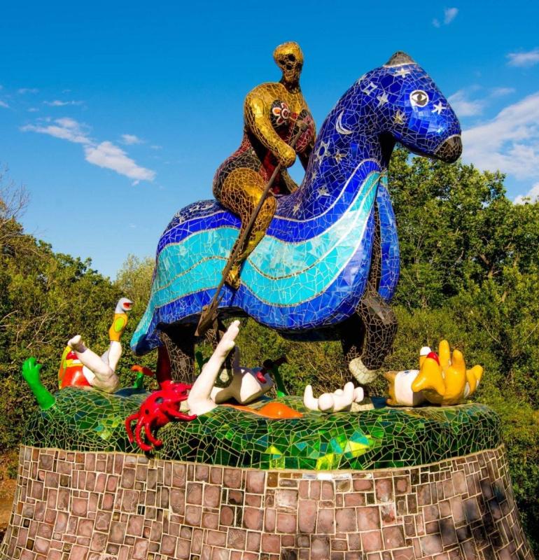 Никки деСен-Фалль, парк скульптур «Сад Таро». 1978−98 гг