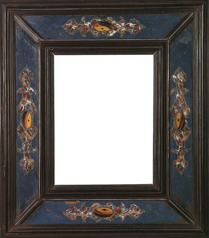 Cassette frame, Italy, Rome. 1800—1900, stylized in the early 17th century