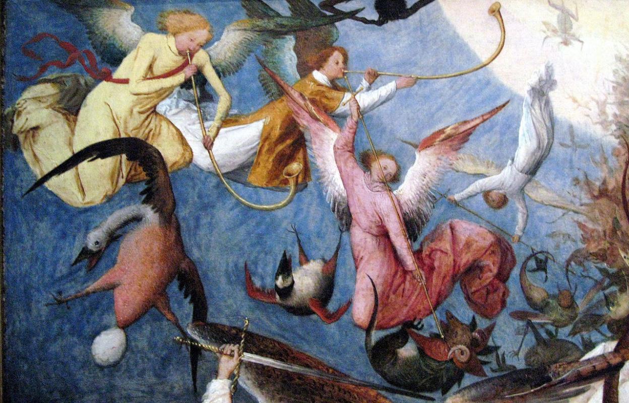«Падение мятежных ангелов» Брейгеля: Королевский музей изящных искусств Бельгии исследует тайны и парадоксы шедевра