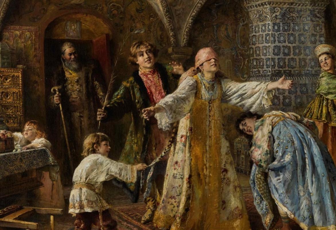 Рекорд для картин Маковского установлен на русских торгах в Лондоне