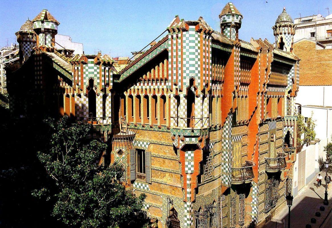 Первый дом, построенный Гауди, открыл свои двери в Барселоне в качестве музея