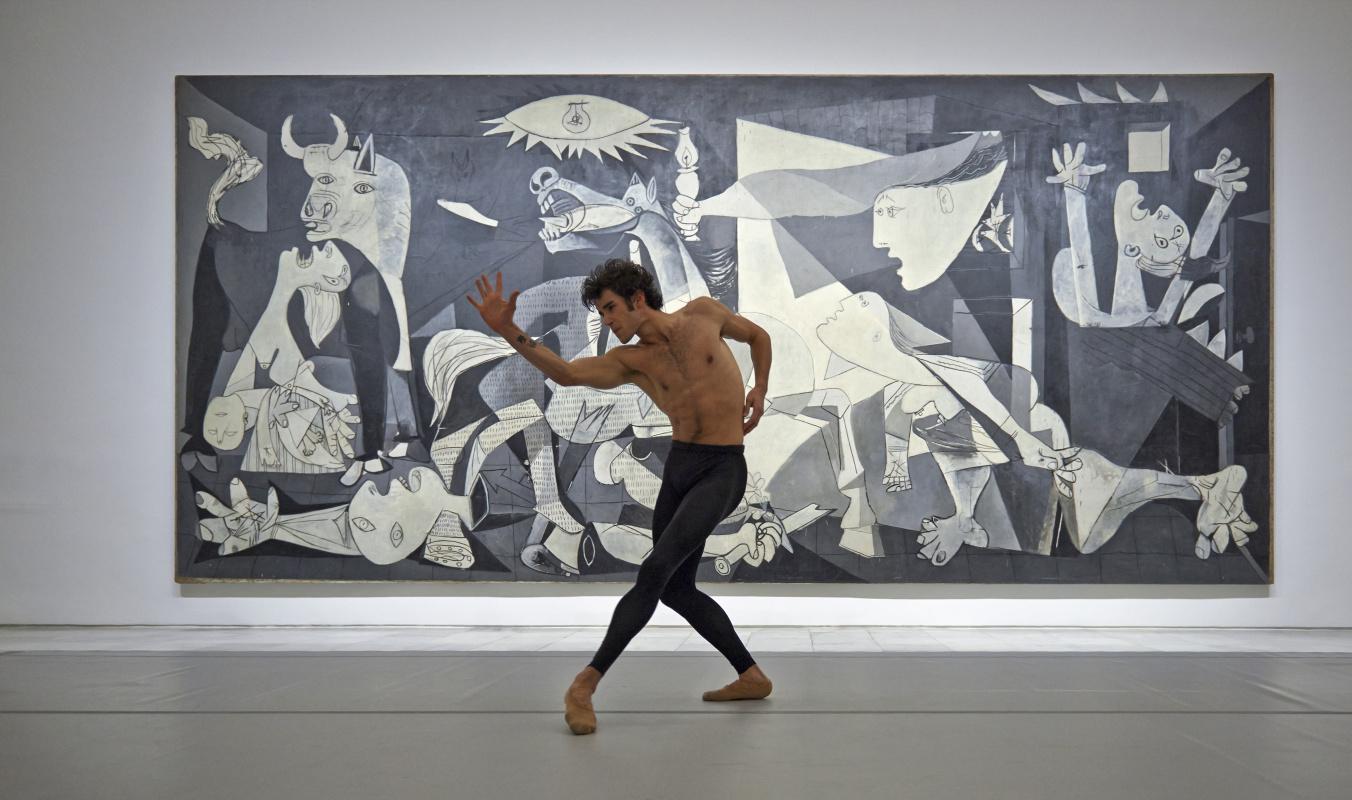 «Герника» Пикассо  - танцуем? Проект  в Мадриде одобрили потомки творца