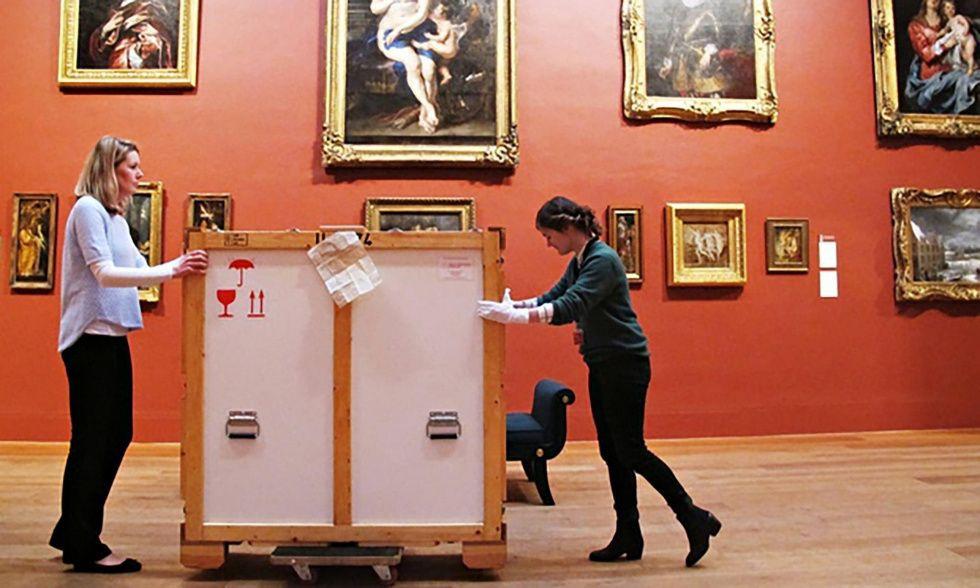 «Сделано в Китае»: галерея в Лондоне предлагает найти подделку среди подлинников Рубенса, Тициана, Гейнсборо...