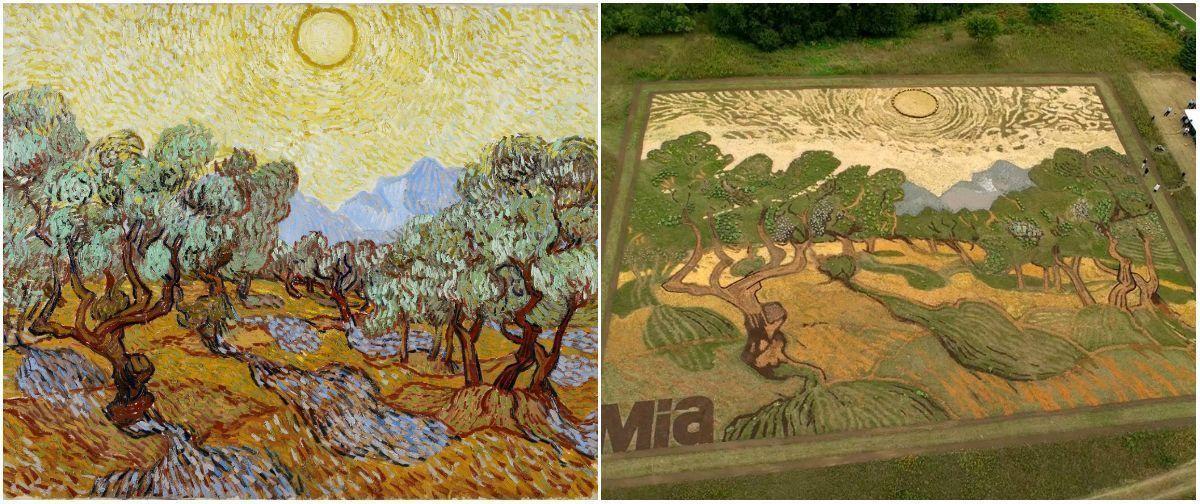 Рисунки на полях: американский художник воспроизвёл картину Ван Гога
