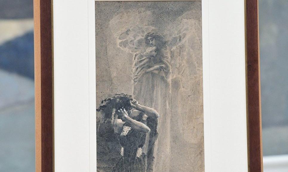 Пропавший 22 года назад известный рисунок Врубеля возвращается в музейную коллекцию