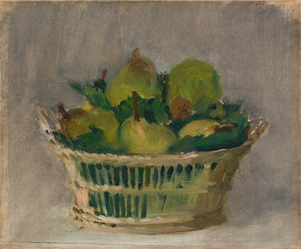 """Эдуар Мане, """"Корзина с грушами"""" (1882)"""