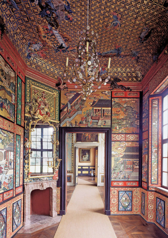 The interior of a Chinese tea house in Sanssouci Palace Park, Potsdam. Photo: GETTY IMAGE / FOTOBANK
