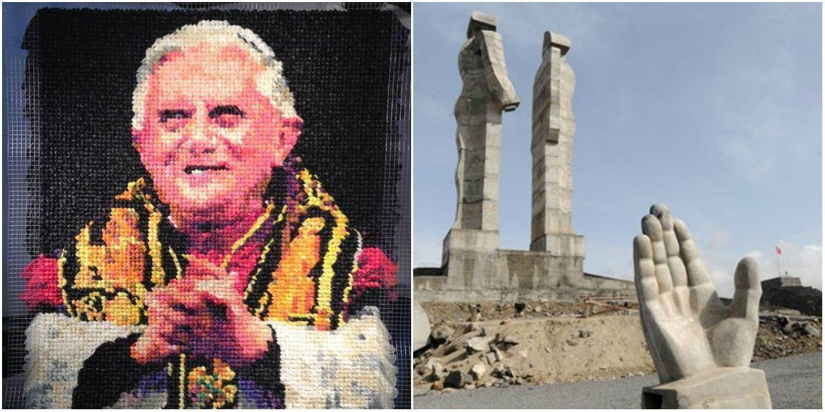 Папа из кондомов, иск за оскорбление президента и 40 тысяч на такси: обзор арт-скандалов за неделю