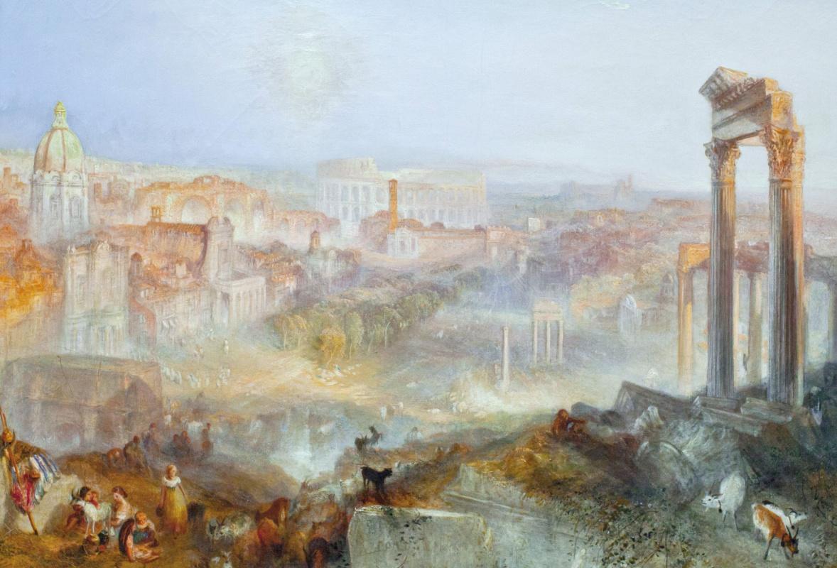 В Шотландии готовят две выставки, посвящённые Уильяму Тёрнеру