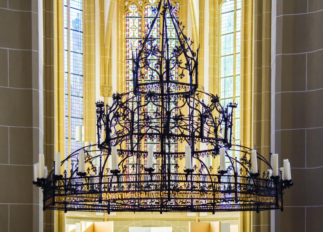 Люстра изцеркви Св. Вальбурга в Зютфене, выполненная неизвестным мастером примерно в 1395 году
