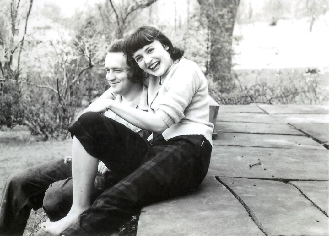 Andrew and Betsy Wyeth at Chadds Ford, c. 1940