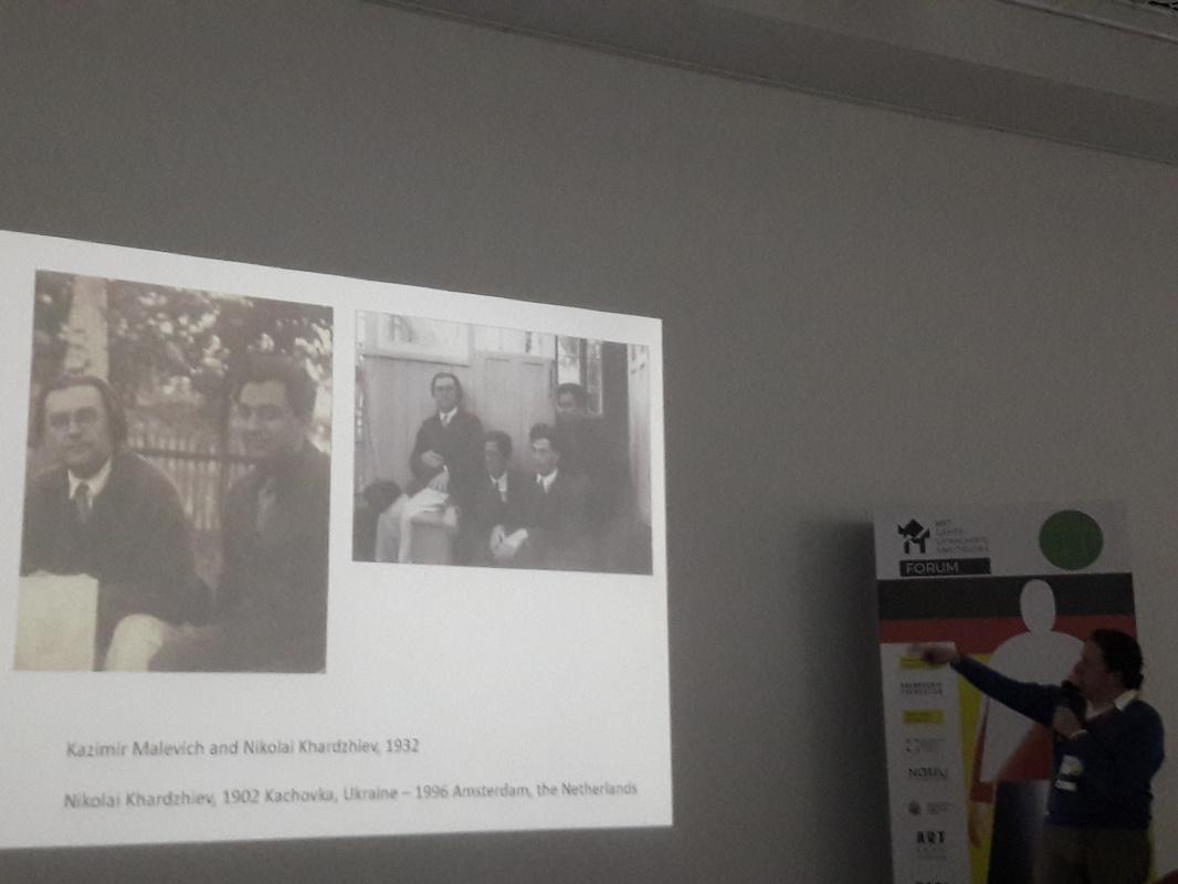 Рассказывает Шенг Шейен, специалист по искусству авангарда, Член Совета Фонда Харджиева (Амстердам,