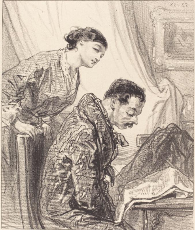 Degas the Collector: obsessive unmercenary