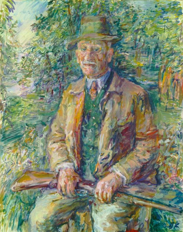 Оскар Кокошка. ПортретФердинанда Блох-Бауэр. 1936