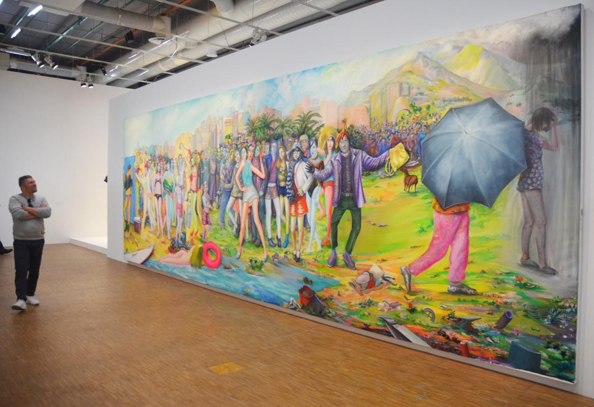 В неоновом свете – новая ретроспектива Мартиала Райса в Центре Жоржа Помпиду