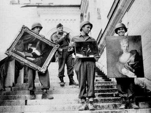 Приключения шедевральной пятерки: великие картины до и после Второй мировой (Часть 1)