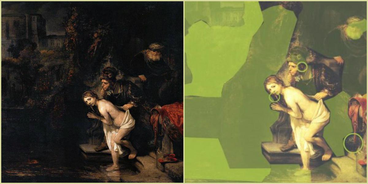 Неожиданное открытие: картину Рембрандта тотально «отредактировал» известный художник XVIII века