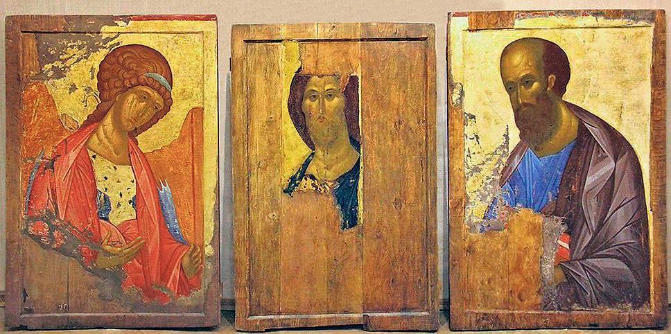 Иконы Звенигородского чина мог создать не Андрей Рублев