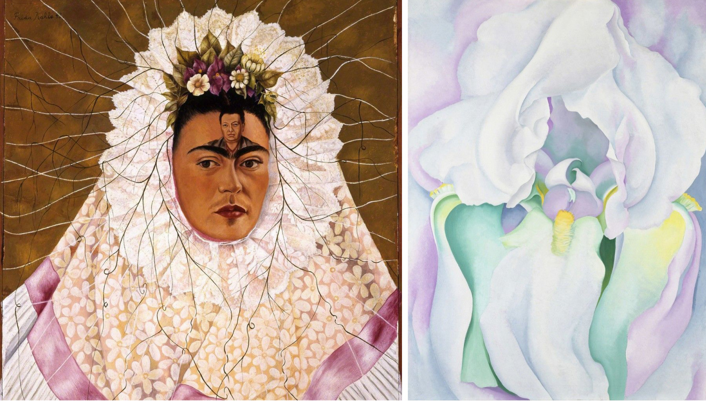 Flirting, tequila and flowers. Friendship between Frida Kahlo and Georgia O'Keeffe