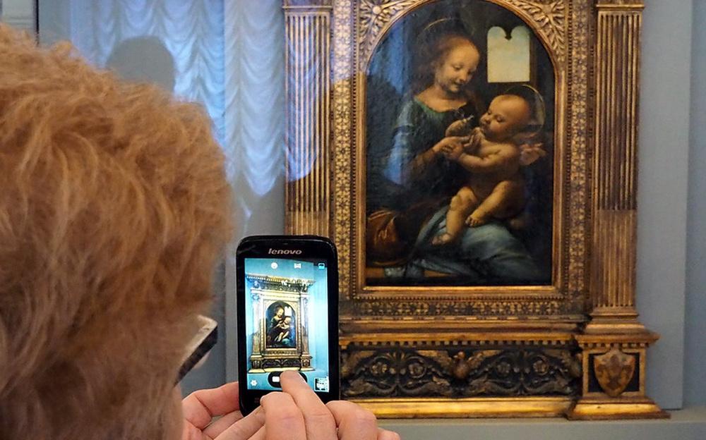 «Мадонна Бенуа» Да Винчи из Эрмитажа отправится в Италию
