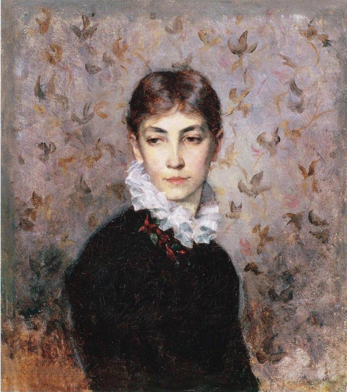 Мария Вик. Портрет сестры художницы Хильды Вик. 1880
