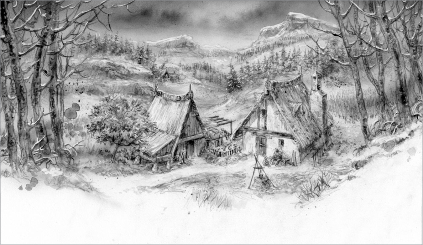 Новые иллюстрации Луиса Ройо для старой сказки Джорджа Р.Р.Мартина