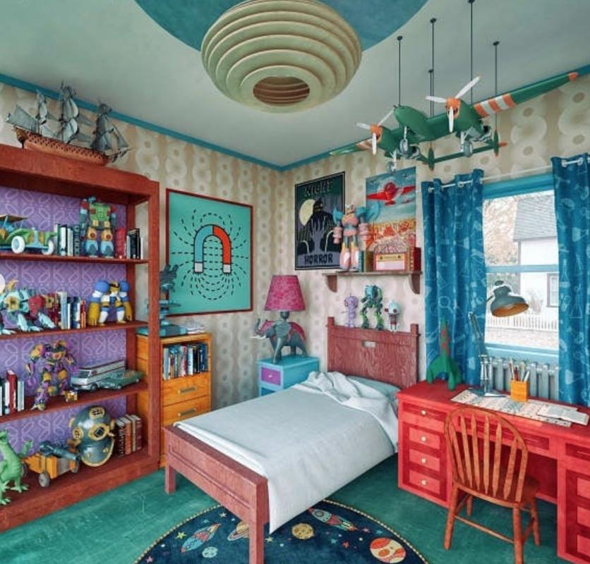 Комната Морти из мультсериала «Рик и Морти»