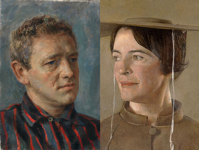 Love story in paintings. The Wyeths: Andrew and Betsy