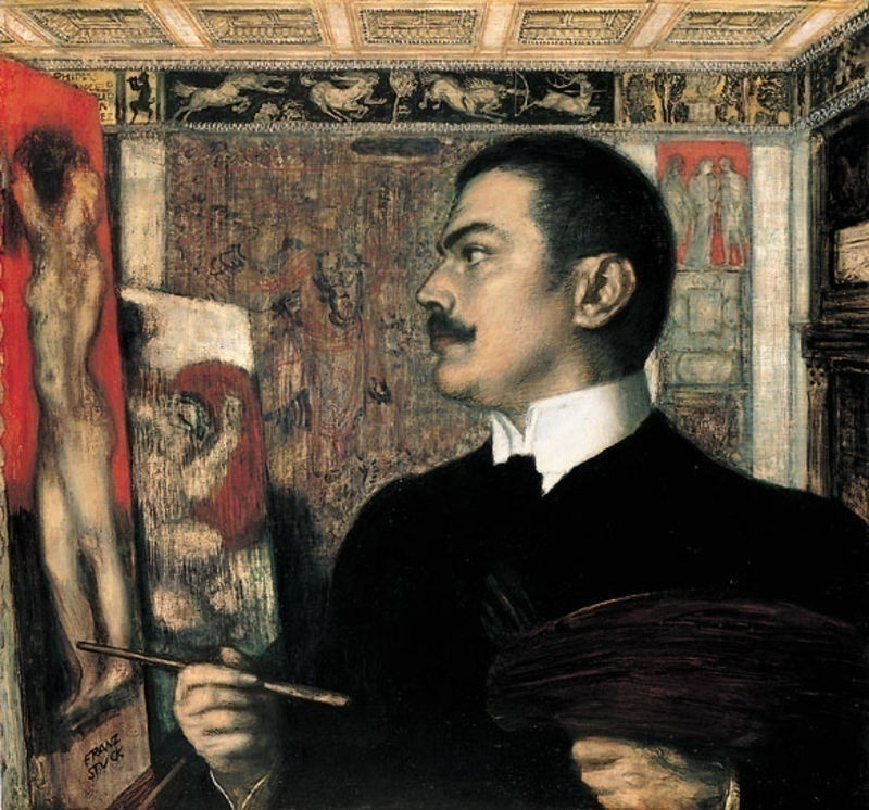 Вилла-модерн Франца фон Штука: ценная новинка - Геркулес и гидра