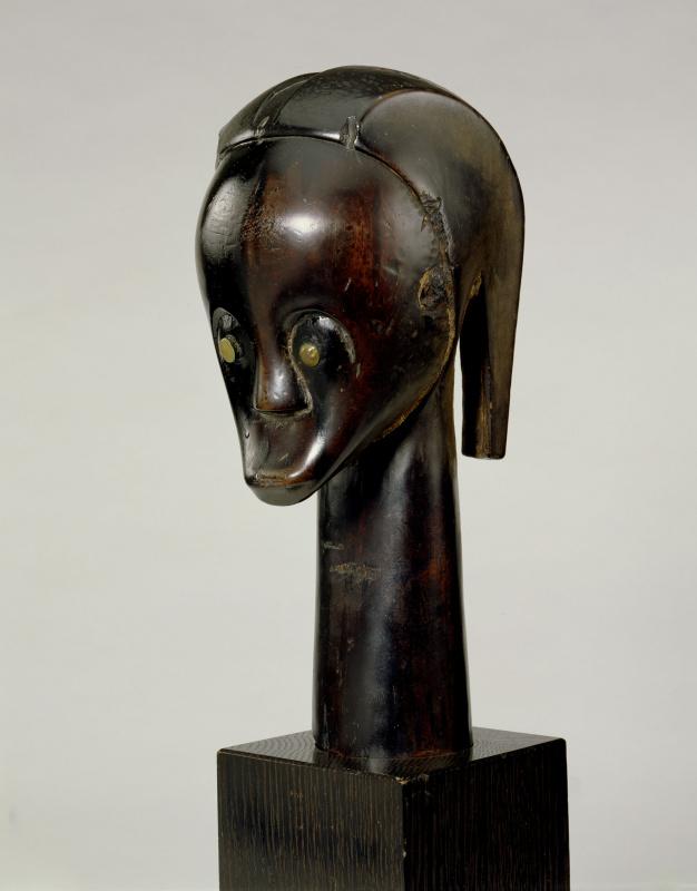 Голова-реликварий, XIX век