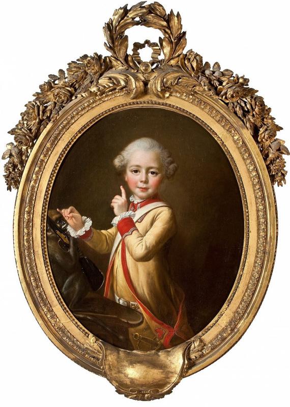 Франсуа-Юбер Друэ, «Маленький паж» (1769)