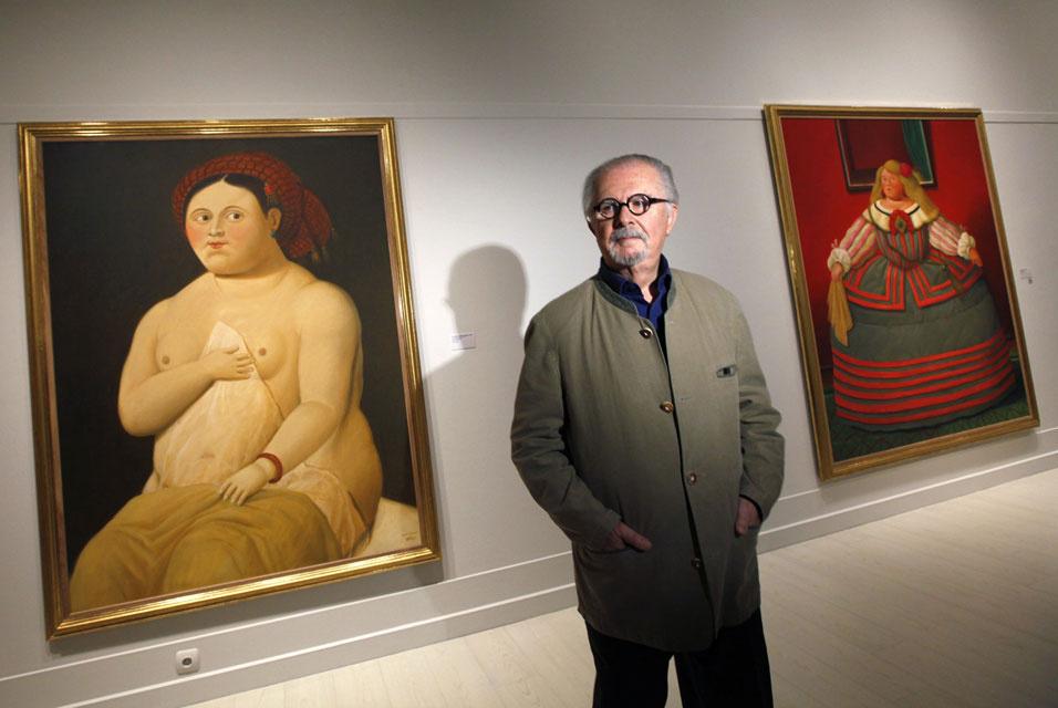 Быть Ботеро: у самого известного художника Латинской Америки четыре выставки и один пожар