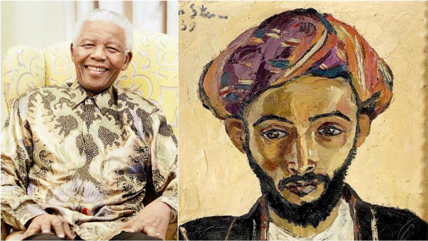 Картину, которая помогла Нельсону Манделе, продали за 1,3 млн долларов