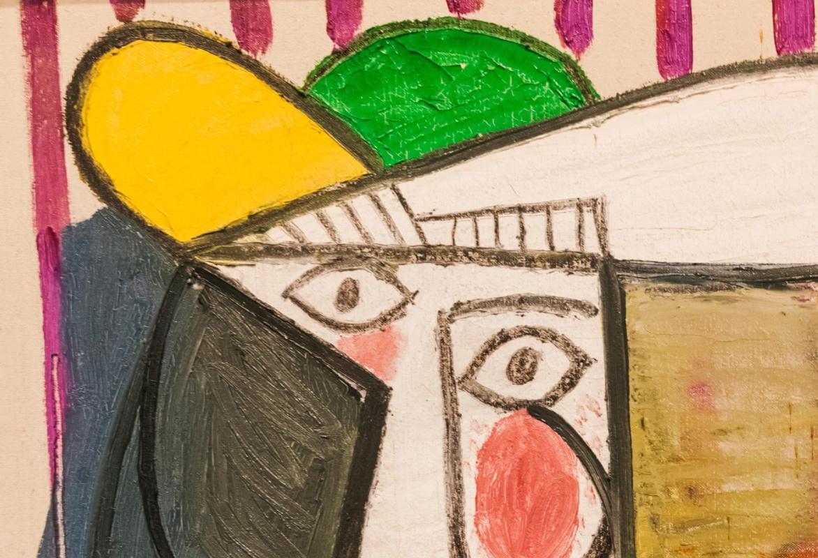 Вандал разрезал картину Пикассо стоимостью в 20 миллионов фунтов