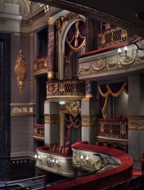 Интерьеры обновлённого Королевского театра Друри-Лейн. Источники: ft.com, architectsjournal.co.uk