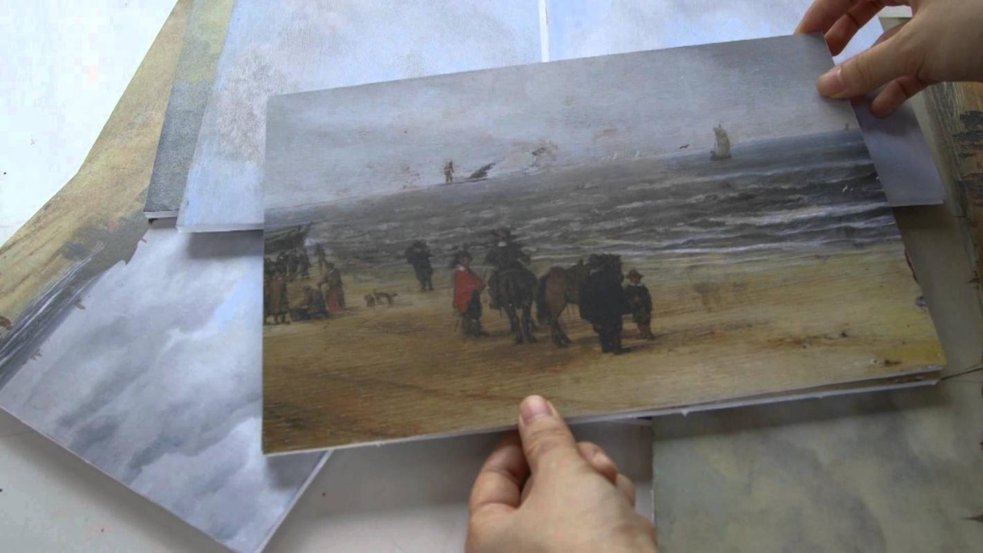 """Реставраторы нашли кита в темной живописи:  картина Хендрика ван Антониссена """"с прибавлением"""" - в музее Кембриджа"""