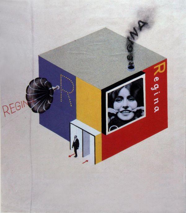 Гербарт Байер. Дизайн выставочного стенда, 1924