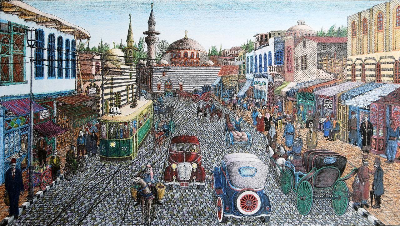 Прогулка по Дамаску – сирийский художник Халдун Чичакли знакомит с городом, которого больше нет