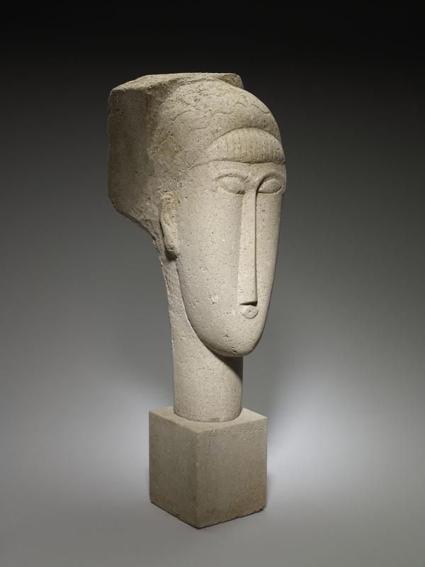 Амедео Модильяни,«Голова» (1911/12). Институт искусств в Миннеаполисе