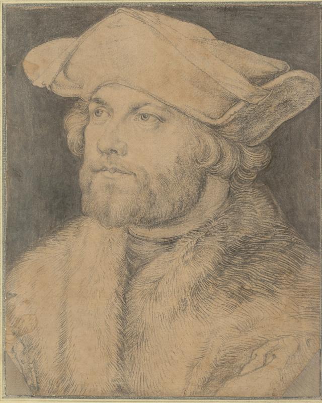 Рисунок из галереи Альбертина, приписанный Альбрехту Дюреру